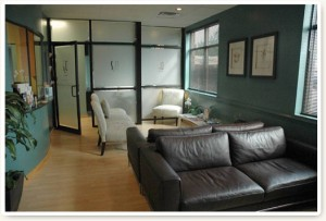Plastic Surgery Specialists Patient Waiting Room