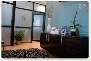 Plastic Surgery Specialists Skin2O Spa Waiting Room